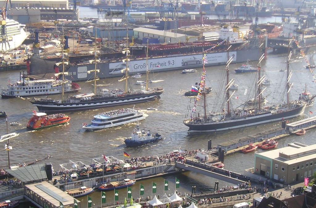 Der Hamburger Hafenempfang 2019