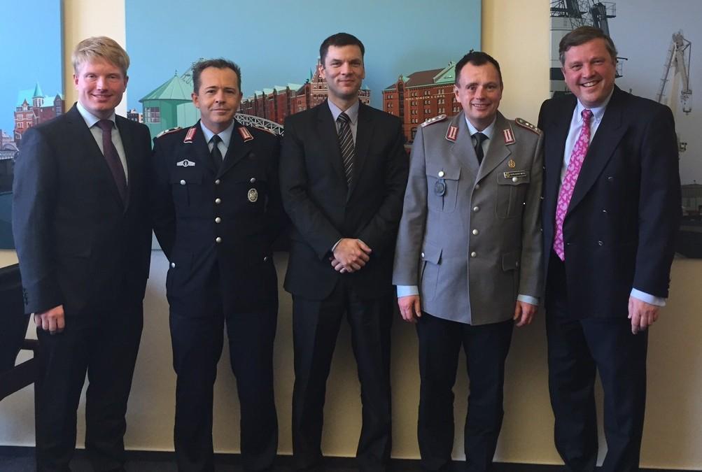 Besuch von der Führungsakademie der Bundeswehr
