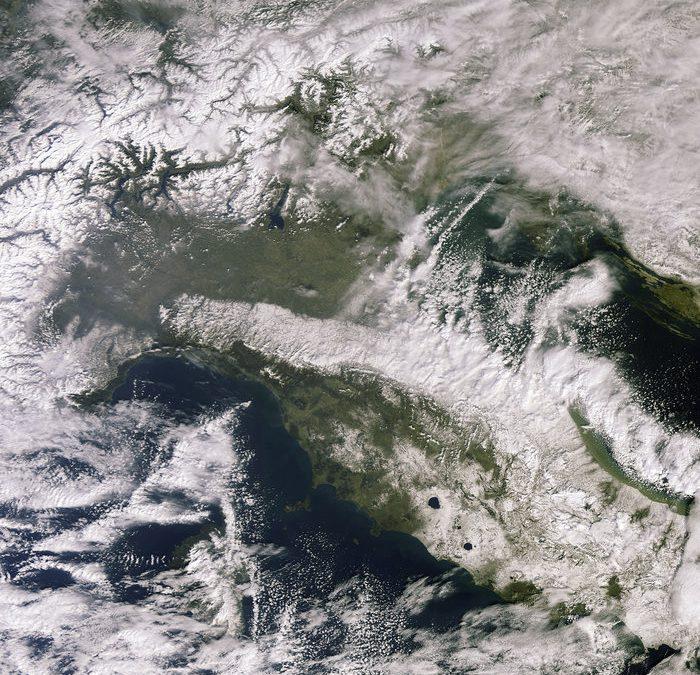 Europa im Schnee