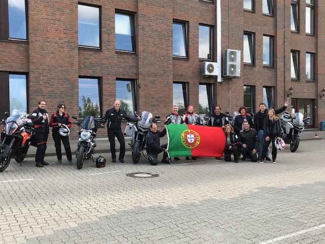 Motorräder aus Portugal für Nordkap Tour