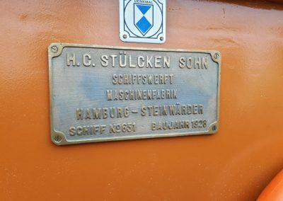Otto Lauffer - Plakette Denkmal