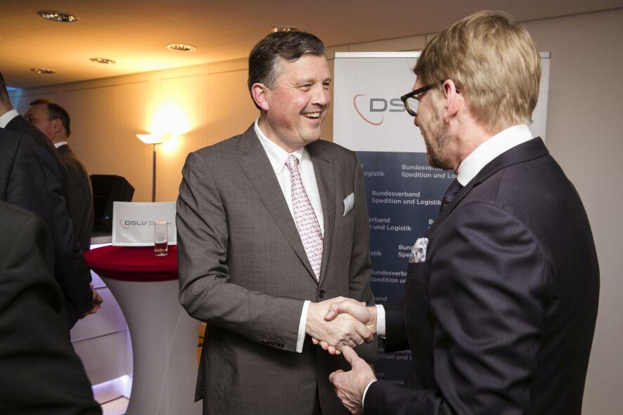 Frühjahrsempfang des DSLV Bundesverband Spedition und Logistik in Berlin