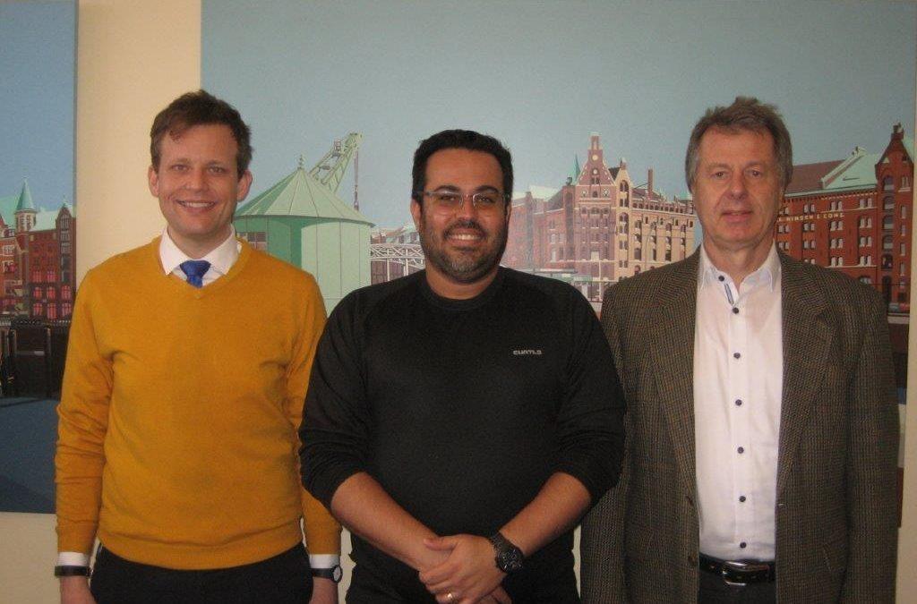 Brasilien – NAVIS Partner aus Rio de Janeiro zu Besuch in Hamburg