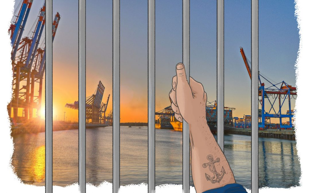 """Neueste NAVIS Segelliste KW 36 – 41 / 2020 ist online. Titelbild: Bis zu 600.000 Seeleute sind wegen Corona in """"Zwangs-Quarantäne gefangen"""""""