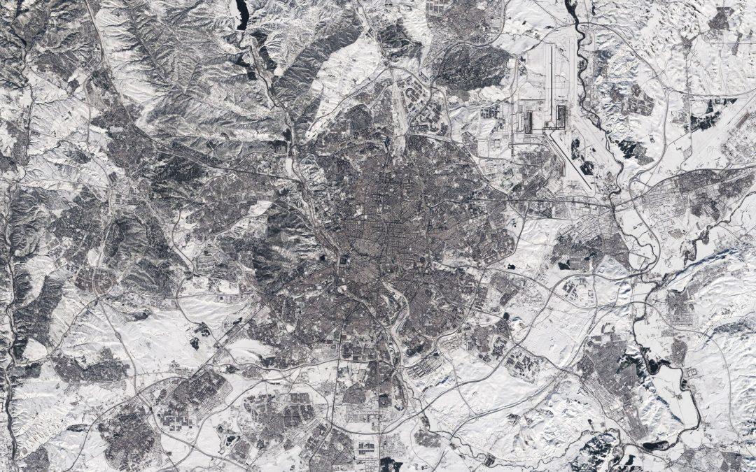 Spanien – Schneechaos im Großraum Madrid