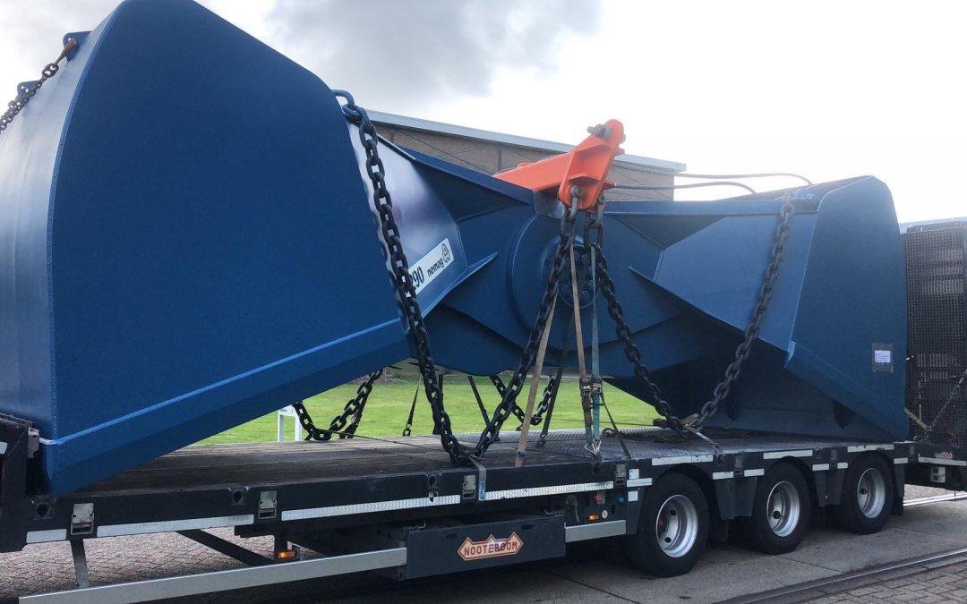 """NAVIS Antwerpen organisierte den Transport eines """"Mega-Greifers"""""""
